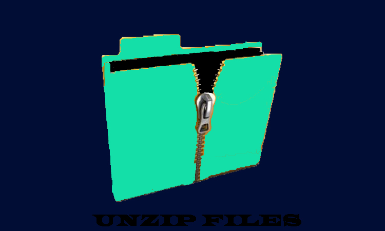 Steps To Unzip File Using 7-Zip